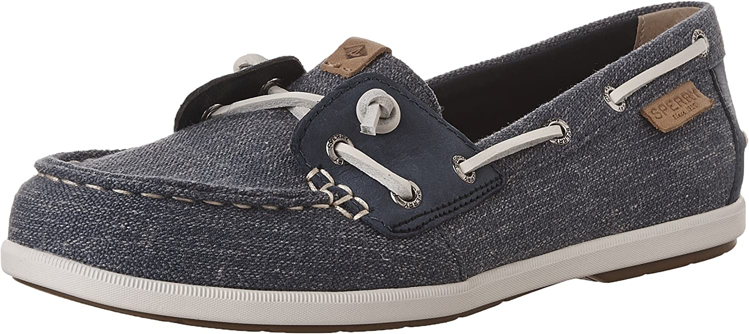Sperry Womens Coil Ivy Canvas Boat shoes