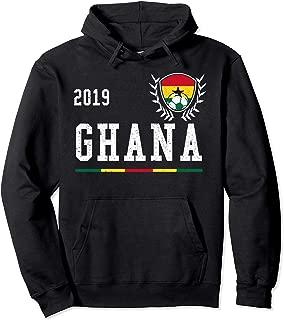 Ghana Football Jersey 2019 Ghanian Soccer Hoodie
