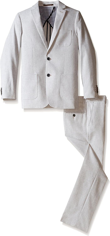 Isaac Mizrahi Boys' Solid Linen Suit