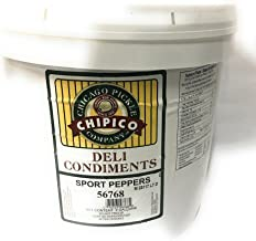 Vienna Beef Chipico Chicago Style Sport Peppers (2 Gallon) …