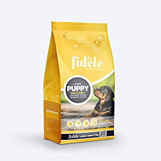 Fidele Dry Dog Food, Puppy Large Breed, 4-kg