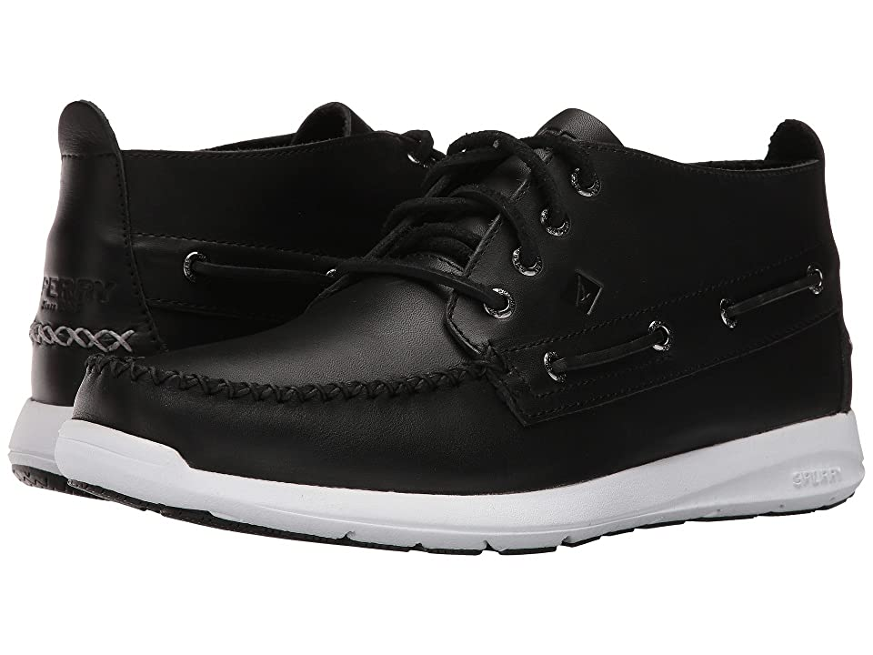 Sperry Sojourn Chukka Leather Boot (Black) Men