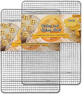Hiware 2-Pack Cooling Racks for Baking - 11.8