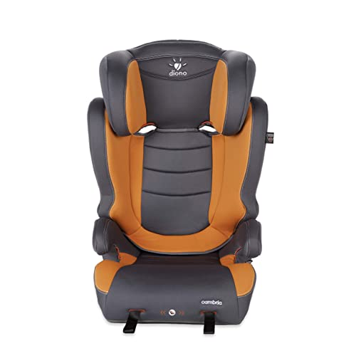 Diono Cambria High Back and Backless Booster, Forward-Facing 40-120 Pounds, Sunburst (Discontinued)