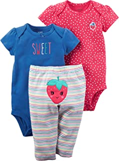 Baby Girls' 3 Pc Back Art 126g365