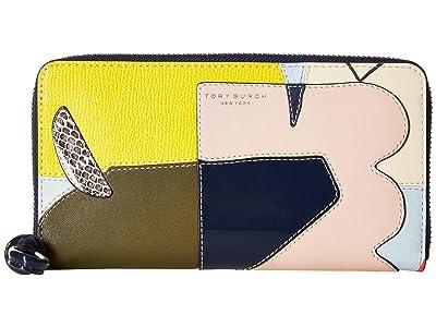 Tory Burch Inside The Box Zip Continental Wallet (Inside The Box) Wallet Handbags
