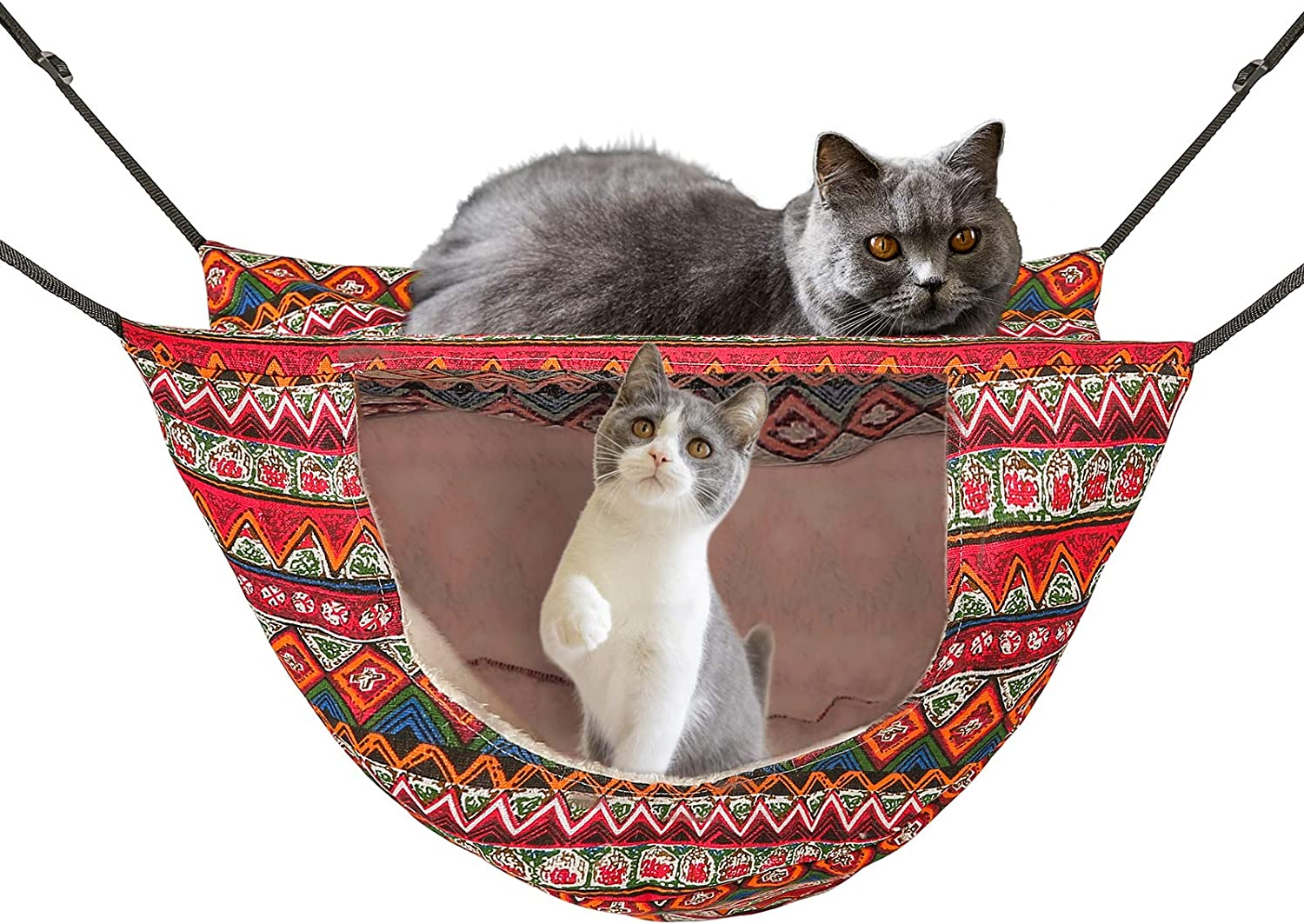 ONENIN Cat Cage Hammock Hanging New Free Shipping included Shipping Soft P Bed for Kitten Ferret Pet