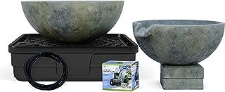 Aquascape 58087 Spillway Bowl and Basin Fountain Kit, Patina