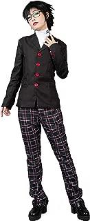 Cosfun P5 Protagonist Joker Akira Kurusu Cosplay Costume School Uniform mp004189