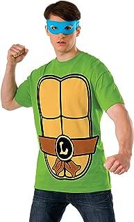 Teenage Mutant Ninja Turtles Shirt With Mask and Leonardo