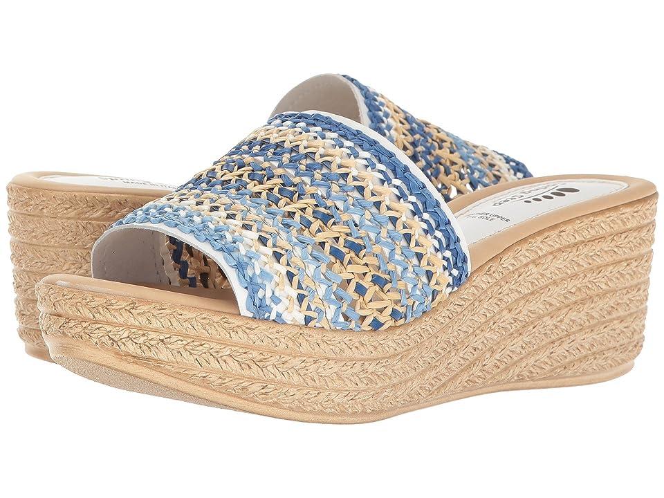 Spring Step Calci (Denim) Women's Shoes, Blue