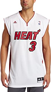 white on white miami heat jersey