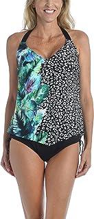 24th & Ocean Women's V-Neck Tankini Swimsuit Top