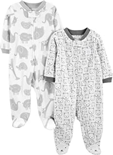 Simple Joys by Carter's Pack de 2 Polares Unisex para bebé