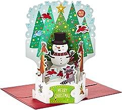 Hallmark Paper Wonder Pop Up Christmas Card with Lights and Music (Plays Rockin' Around The Christmas Tree)