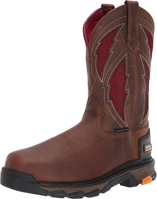 ARIAT Men's Intrepid Venttek Lightning Composite Toe Work Boot