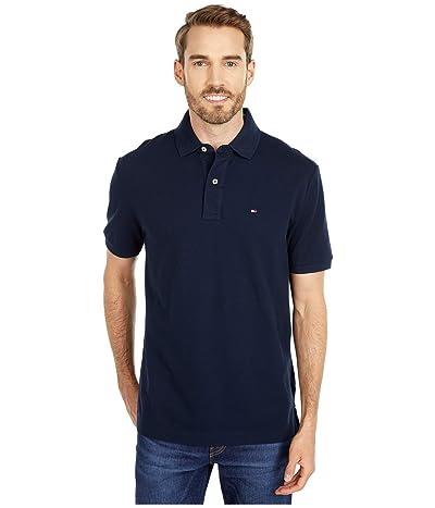 Tommy Hilfiger Adaptive Regular Fit Ivy Polo Shirt (Sky Captain) Men