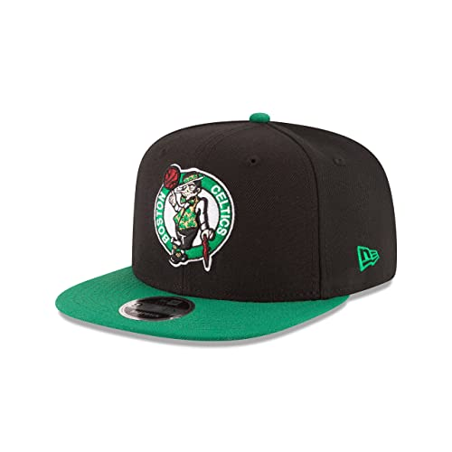 3e70ee22 New Era NBA Boston Celtics Men's 9Fifty Original Fit 2Tone Snapback Cap,  One Size,