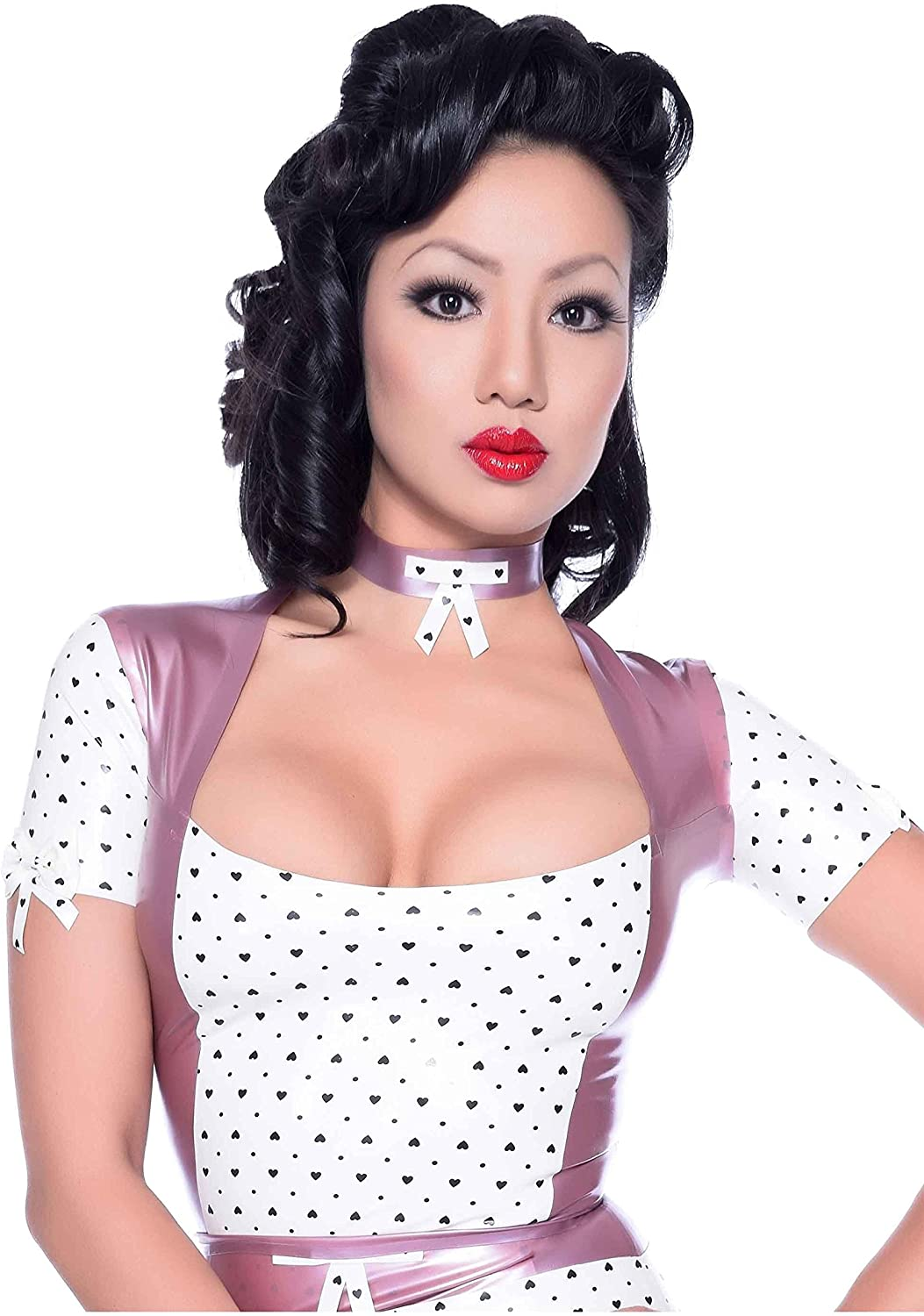 Obsessive Love Top Pearl Sheen Trim New Max 83% OFF mail order Warm White Lilac with
