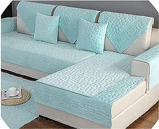Sofa Cover3D Stone Pattern Sofa Cover Towel Slipcover Plush Fabric Thick Sofa Modern Non-Slip Sofa Couch Cover Corner Towel Mats 1Pcs,1Pcs Sofa Towel2,90X160Cm 1Pc