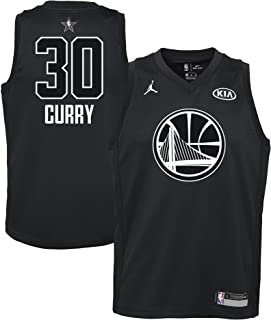 Jordan Youth 2018 NBA All-Star Game Curry Black Dri-FIT Swingman Jersey