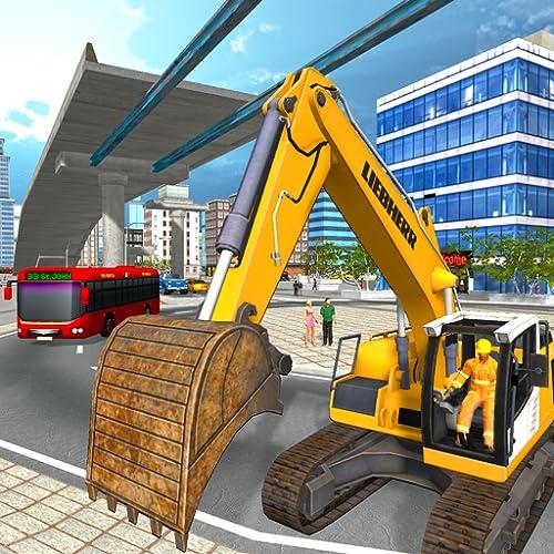 Überbrückungsbau der Stadt: neuer Brückenbau sim