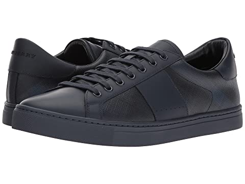 09dd3ea9b466 Burberry Ritson London Check Low Top at Luxury.Zappos.com