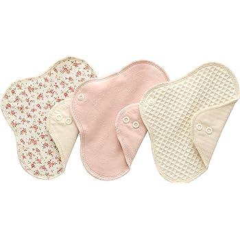 (すぃーと・こっとん) sweet cotton 布ナプキン ネルライナー3枚セット 綿100% パンティライナー サニタリ