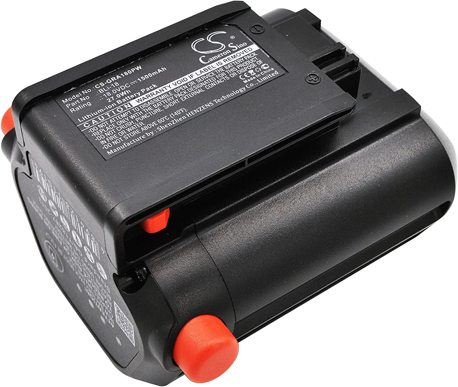 1500mAh Battery Replacement for Gardena 9824 free 8866 Max 66% OFF 881 Ea Trimmer
