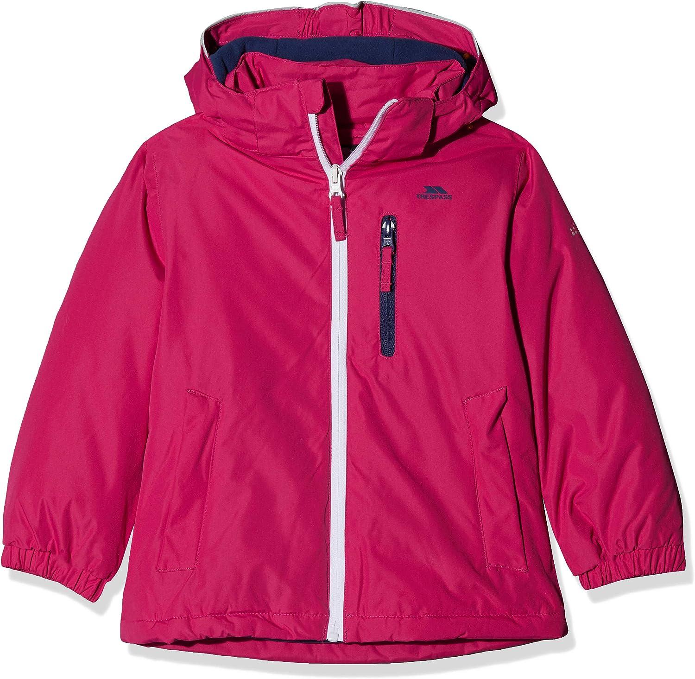 Trespass Kids Heddar Warm Padded Waterproof Winter Jacket with Detachable Hood