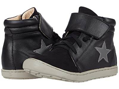 Old Soles Stary Knight (Toddler/Little Kid) (Black/Black Suede/Grey) Boy