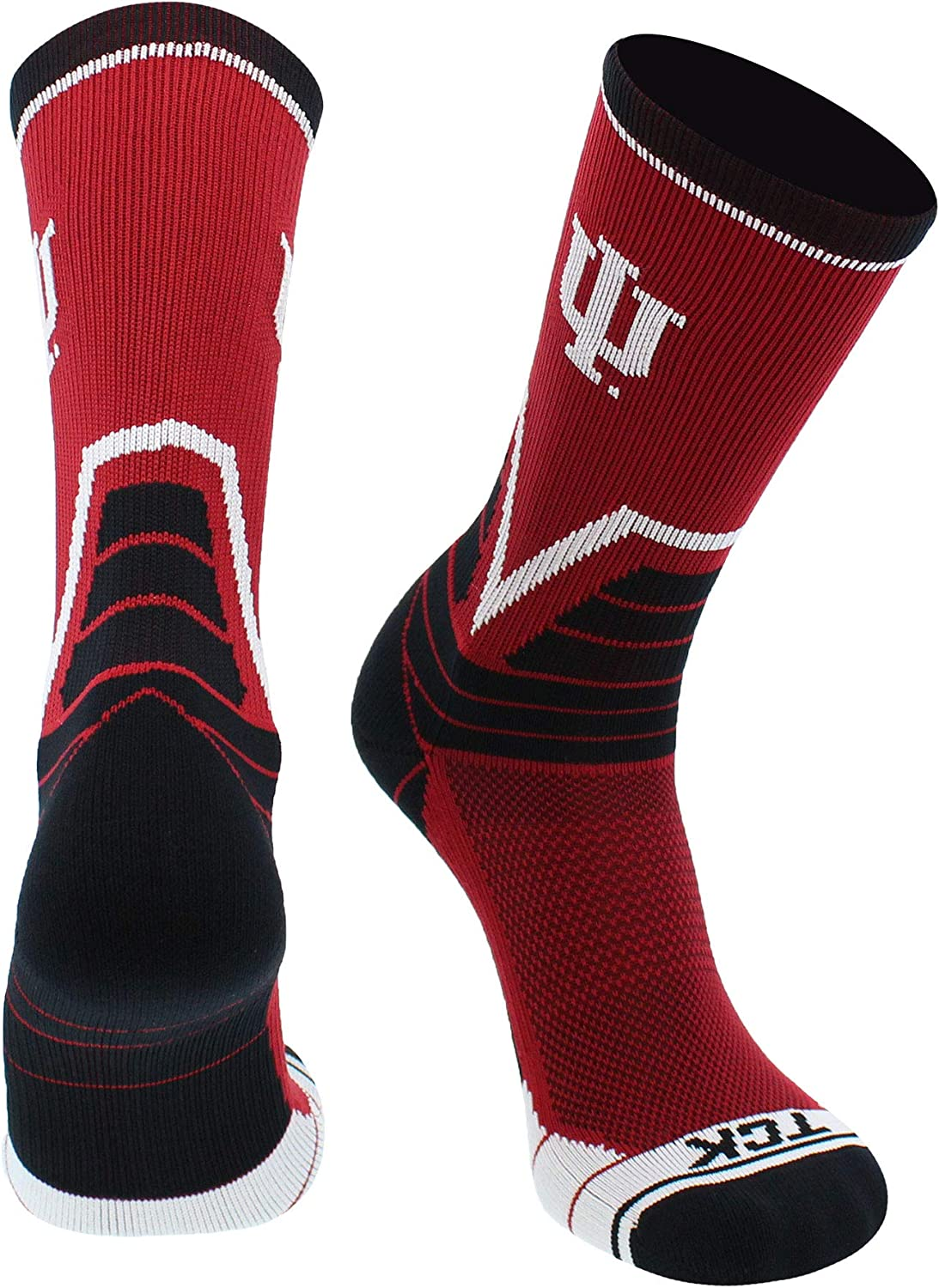 TCK Indiana Hoosiers Directly managed Import store Crew Socks Victory