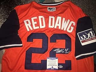 Josh Reddick Autographed Signed Houston Astros Jersey Nickname Red Dawg Star Beckett - Authentic Memorabilia