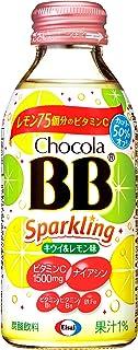 エーザイ チョコラBB(栄養機能食品)スパークリング キウイ&レモン 140ml×24本