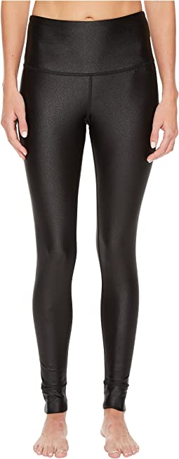 Metallic High-Rise Tights