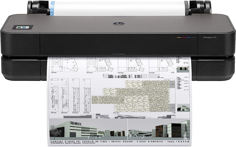 HP DesignJet T210 Large Format Compact Wireless Plotter Printer - 24