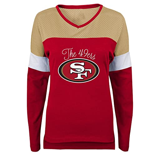 fac2479b Women's 49ers Shirt: Amazon.com