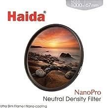 Haida NanoPro 67mm MC ND1000 Filter ND 3.0 1000x Neutral Density 67