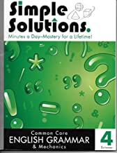 English Grammar and Mechanics Common Core 4, 2nd Senester - Simple Solutions