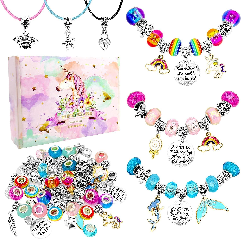 DIY Charm Bracelet Max 60% OFF Making Max 51% OFF Mermaid Kit Can Unicorn
