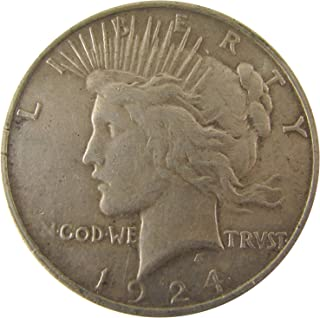 1924 S Peace $1 Extremely Fine