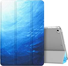 MoKo Case Fit New iPad Mini 5 2019 (5th Generation 7.9 inch), Slim Lightweight Smart Shell Stand Cover with Translucent Frosted Back Protector, with Auto Wake/Sleep - Ocean