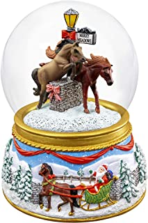 Breyer 2019 Holiday Musical Snow Globe - Merry Meadows   2019 Holiday Collection   Limited Edition   Model #700240