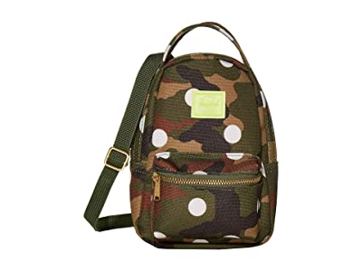 Herschel Supply Co. Nova Crossbody (Woodland Camo White Dot) Handbags