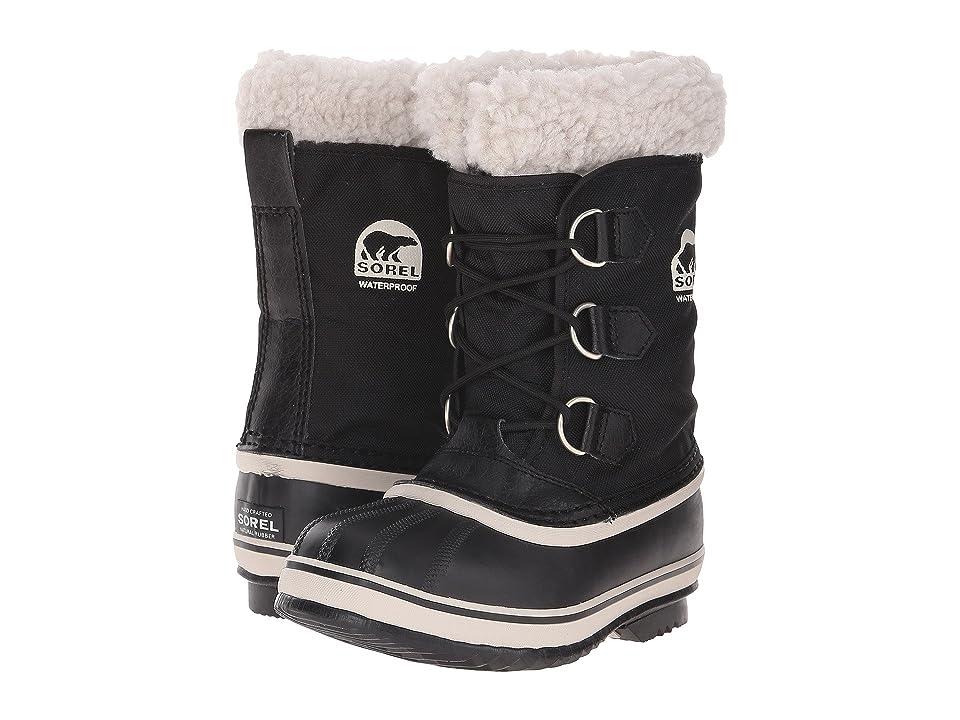SOREL Kids Yoot Pactm Nylon (Little Kid/Big Kid) (Black) Kids Shoes