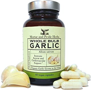 Best organic garlic supplements Reviews