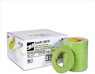 Scotch 26332 12 mm x 55 m 233+ Performance Masking Tape