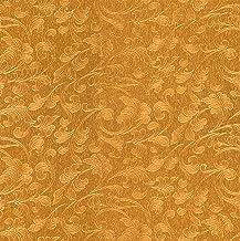 Marcopolo Solid Sheet Vinyl Wallpaper Gold 53x1000cm