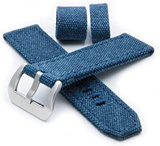 HELM Watches CS1 Canvas Watch Strap - Blue