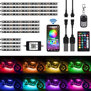 Best motorcycle colored lights Reviews